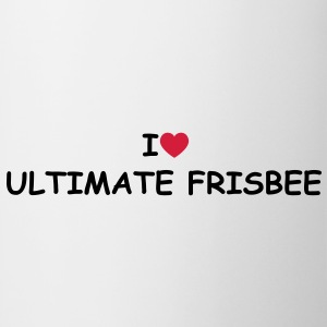 I love/heart Ultimate Frisbee T-Shirt - Tasse