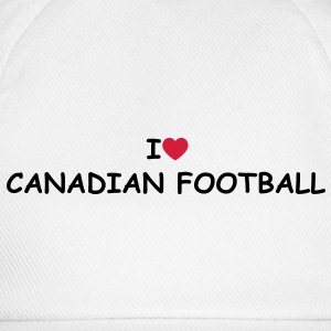 I love/heart Canadian Football T-Shirt - Baseballkappe