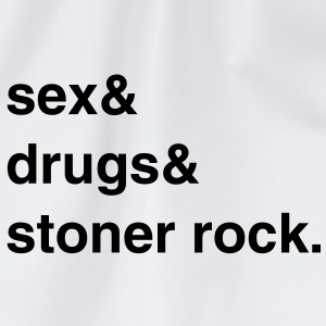 Sex, Drugs and Stoner Rock T-Shirt - Turnbeutel