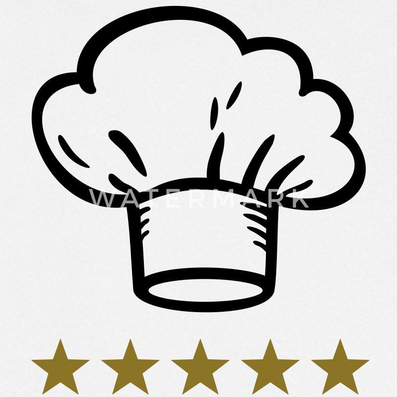 Sternekoch Kochmütze Koch kochen essen Schürze | Spreadshirt | {Koch beim kochen 67}