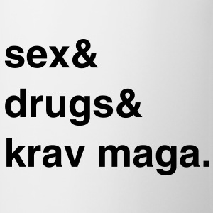 Sex, Drugs and Krav Maga T-Shirt - Tasse