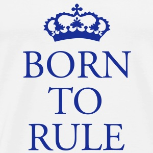 Gin O'Clock Born to Rule Baby One-piece - Men's Premium T-Shirt