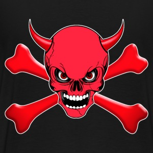 devil skull Sweat-shirts - T-shirt Premium Homme