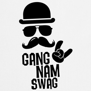 Like a Gangnam swag style boss moustache t-shirts Other - Cooking Apron