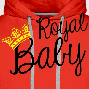 Royal baby Tee shirts - Sweat-shirt à capuche Premium pour hommes