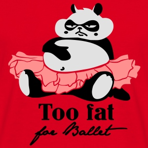 Too fat for Ballet Gensere - T-skjorte for menn