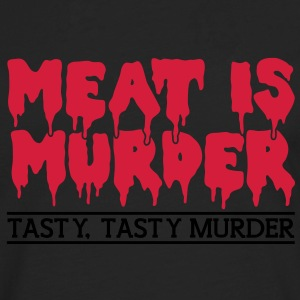 Meat is murder Shirts - Men's Premium Longsleeve Shirt