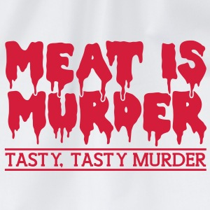 Meat is murder T-Shirts - Drawstring Bag