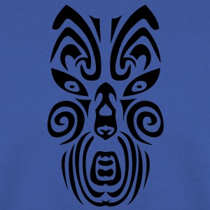 masque maori tribal tattoo12 ethnique Tee shirts - Sweat-shirt Homme
