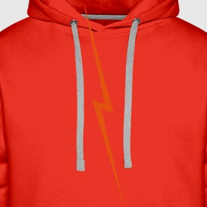 Super Lightning Bolt T-Shirts - Men's Premium Hoodie