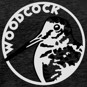 woodcock_circle Hoodies & Sweatshirts - Men's Premium T-Shirt