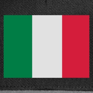 Black Italian Flag Men's Tees - Snapback Cap