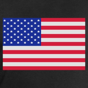 Black American Flag Men's Tees - Men's Sweatshirt by Stanley & Stella