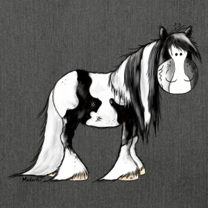 Gypsy Cob - Irish Cob - Pinto – Horse Hoodies & Sweatshirts - Shoulder Bag made from recycled material