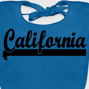Bleu royal california team by wam T-shirts Enfants - Bavoir bio Bébé