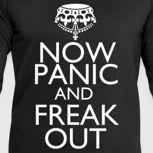 Now panic and freak out - Men's Sweatshirt by Stanley & Stella