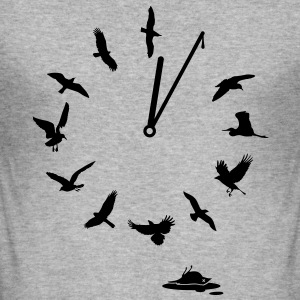 Doomsday Bird Clock i love Mutter Erde t-shirts Pullover & Hoodies - Männer Slim Fit T-Shirt
