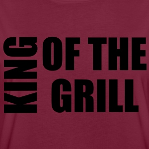 king of the grill Grembiuli - Maglietta ampia da donna