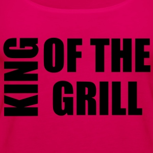 king of the grill Grembiuli - Canotta premium da donna