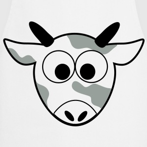 Mr. Moo Cow cow cows grazing meadow farm 3c Shirts - Cooking Apron