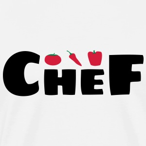 Tablier chef legumes - T-shirt Premium Homme