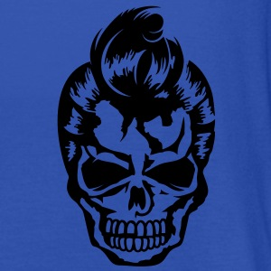 A skull with a rockabilly haircut Jackets & Vests - Vrouwen tank top van Bella