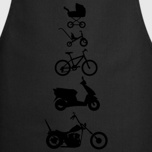 Avant Evolution moto Chopper  Sweat-shirts - Tablier de cuisine