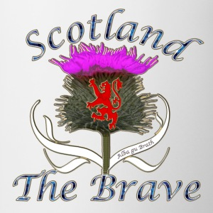 Scotland the brave thistle Hoodies & Sweatshirts - Mug