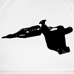 tattoomachine tattoo tätowieren maschine 1c T-Shirts - Baseballkappe