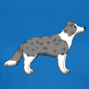 Border Collie blue merle Bags  - Women's T-Shirt