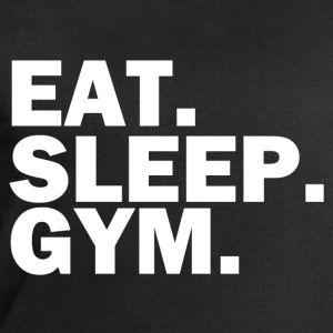 Eat Sleep Gym white T-Shirts - Men's Sweatshirt by Stanley & Stella