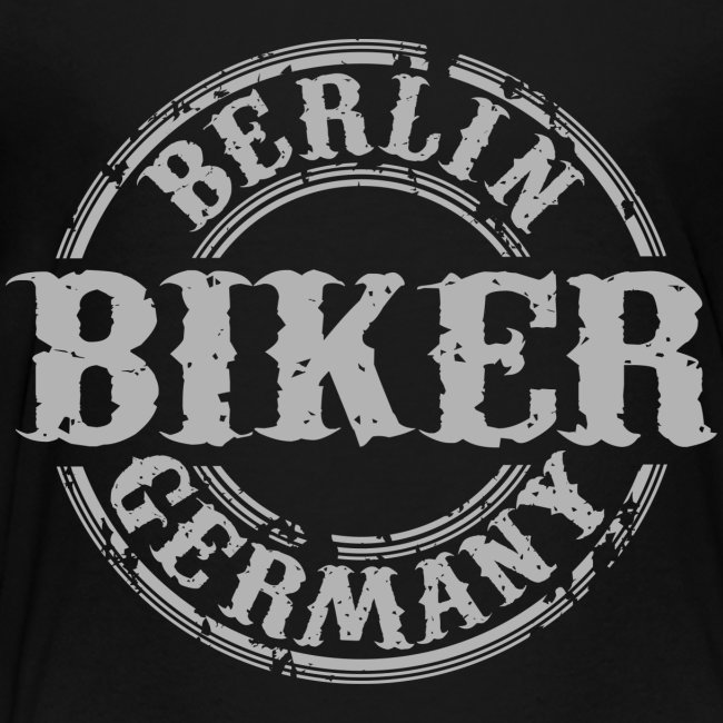 Biker Berlin Germany