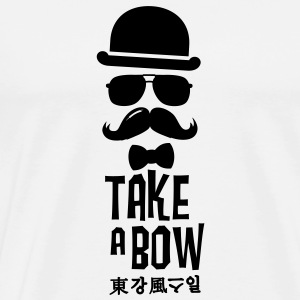Like a swag bow tie moustache style boss t-shirts Sweat-shirts - T-shirt Premium Homme