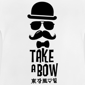 Like a swag bow tie moustache style boss t-shirts Shirts - Baby T-Shirt