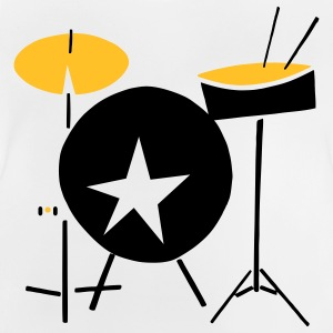 simple drumset... - Baby T-Shirt