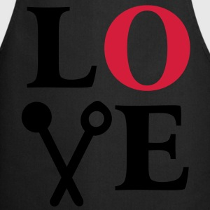 Cooking is Love. Chef Cook Kitchen T-Shirts - Cooking Apron