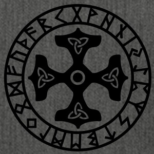 Runes I Futhark I Thor`s Hammer I Amulet I  Hoodies & Sweatshirts - Shoulder Bag made from recycled material