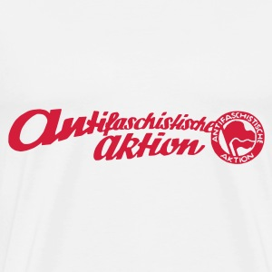 Antifaschistische Aktion - Männer Premium T-Shirt