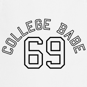 College Babe 69 sexy sex baby  T-shirts - Forklæde