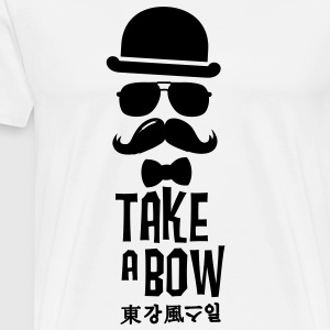 Like a swag bow tie moustache style boss t-shirts Long sleeve shirts - Men's Premium T-Shirt