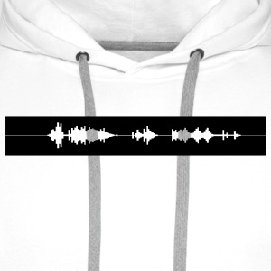 DUBSTEP,ELECTRO,MINIMAL,TECHNO,DANCE, MUSIC, EDM - Men's Premium Hoodie