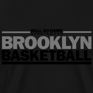 Brooklyn Basketball by BallSoHard.de Pullover & Hoodies - Männer Premium T-Shirt