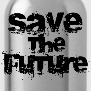 Save The Future - Black Shirts - Water Bottle