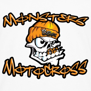 Monsters of Motocross No.19 Pullover & Hoodies - Männer Premium Langarmshirt