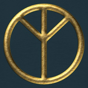 Algiz rune - peace, protection & higher self I Felpe - Maglietta da uomo