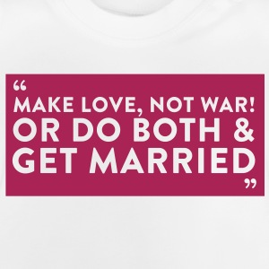 Quote Get Married (1c)++2012 Paidat - Vauvan t-paita