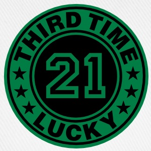 Trisomy 21 | third time lucky T-Shirts - Baseball Cap