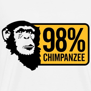 98 Chimpanzee (2c)++2012 Hoodies & Sweatshirts - Men's Premium T-Shirt