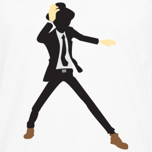 Disco Dancer Silhouette (dd)++2012 Bags  - Men's Premium Longsleeve Shirt