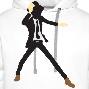 Disco Dancer Silhouette (dd)++2012 Shirts - Men's Premium Hoodie